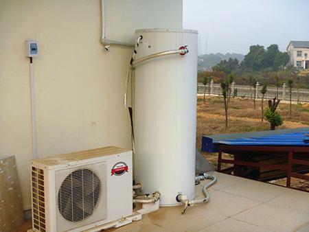 博浪空气能热水器安装实例