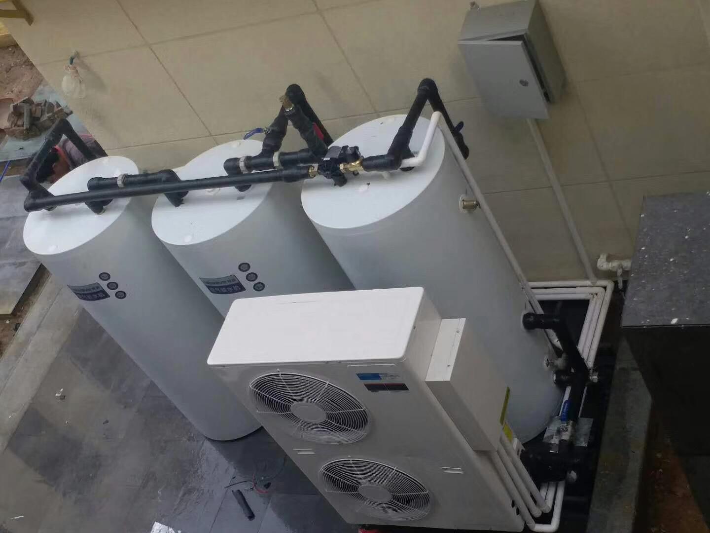 空气能热水器安装实例
