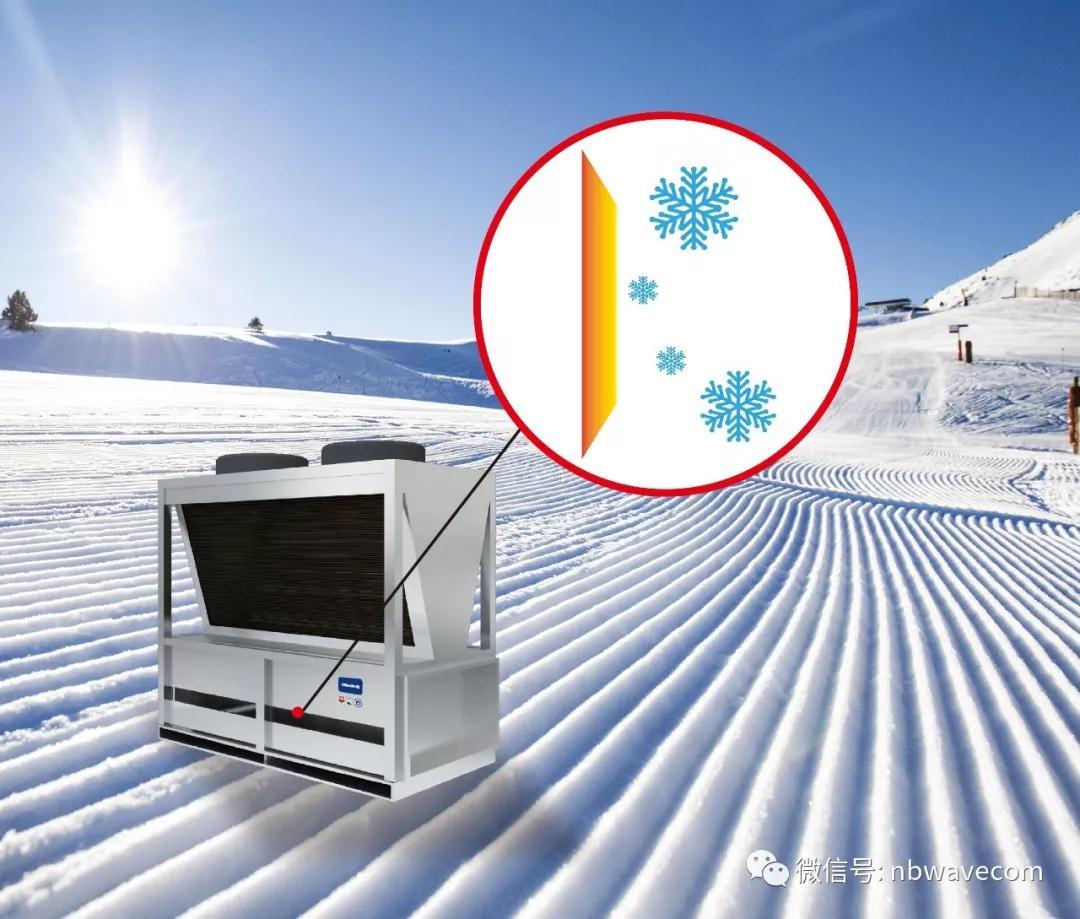 底盘融冰 360°无霜运行