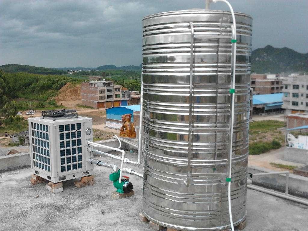 传统开式热水系统