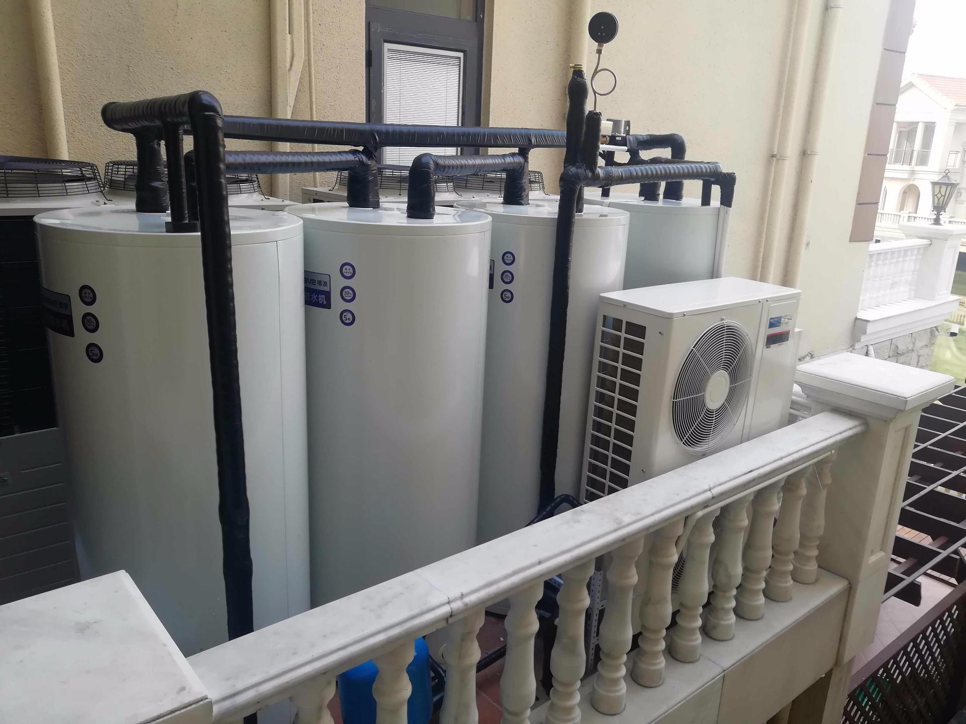 多层别墅热水水箱