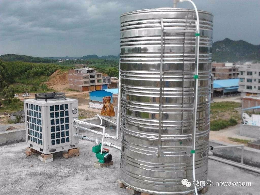 传统空气能开式热水