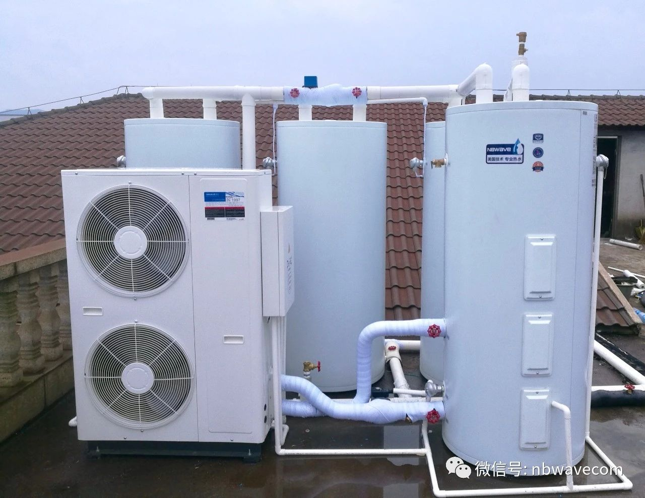 空气能模块承压热水机
